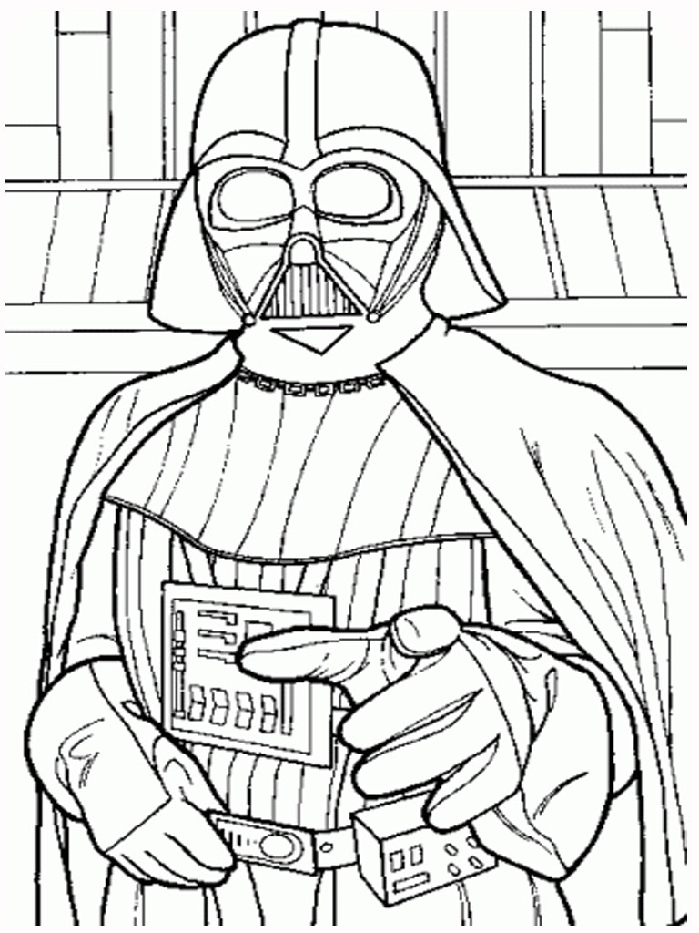 768x1024 Unlimited Darth Vader Coloring Pages To Print Lego Star Wars