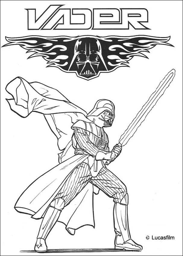 607x850 Coloring Pages Star Wars