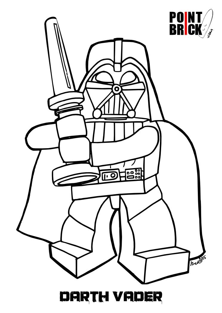 744x1052 Lego Darth Vader Coloring Pages Disegno Di Lego Darth Vader Da