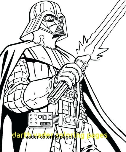 425x510 Darth Vader Coloring Pages