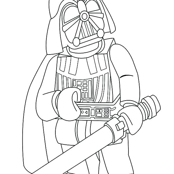 600x600 Darth Vader Coloring Pages Kids Coloring Coloring Page The Maul