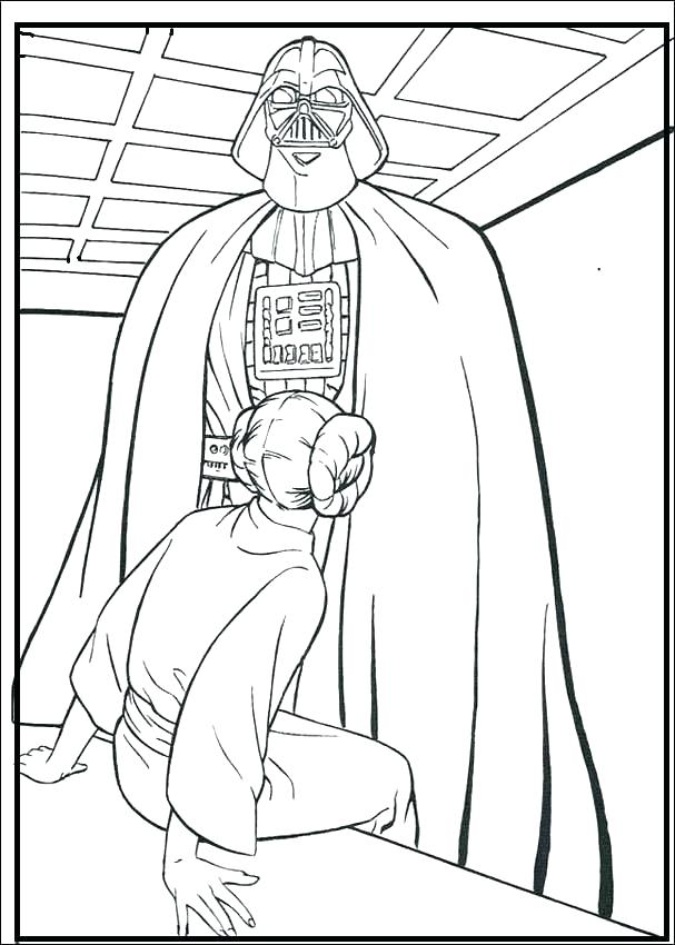 607x850 Lego Darth Vader Coloring Pages Coloring Page Excellent Coloring