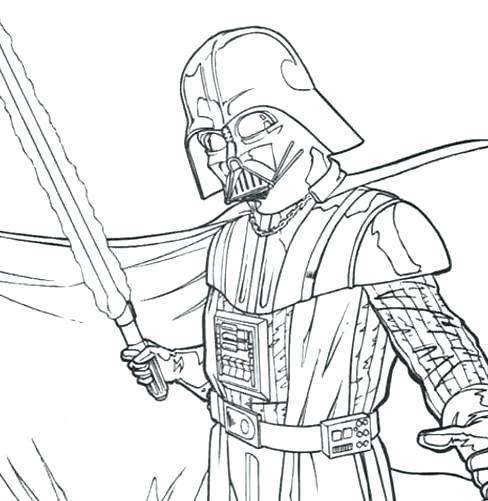 488x501 Coloring Pages Star Wars Informational Site Lego Darth Vader