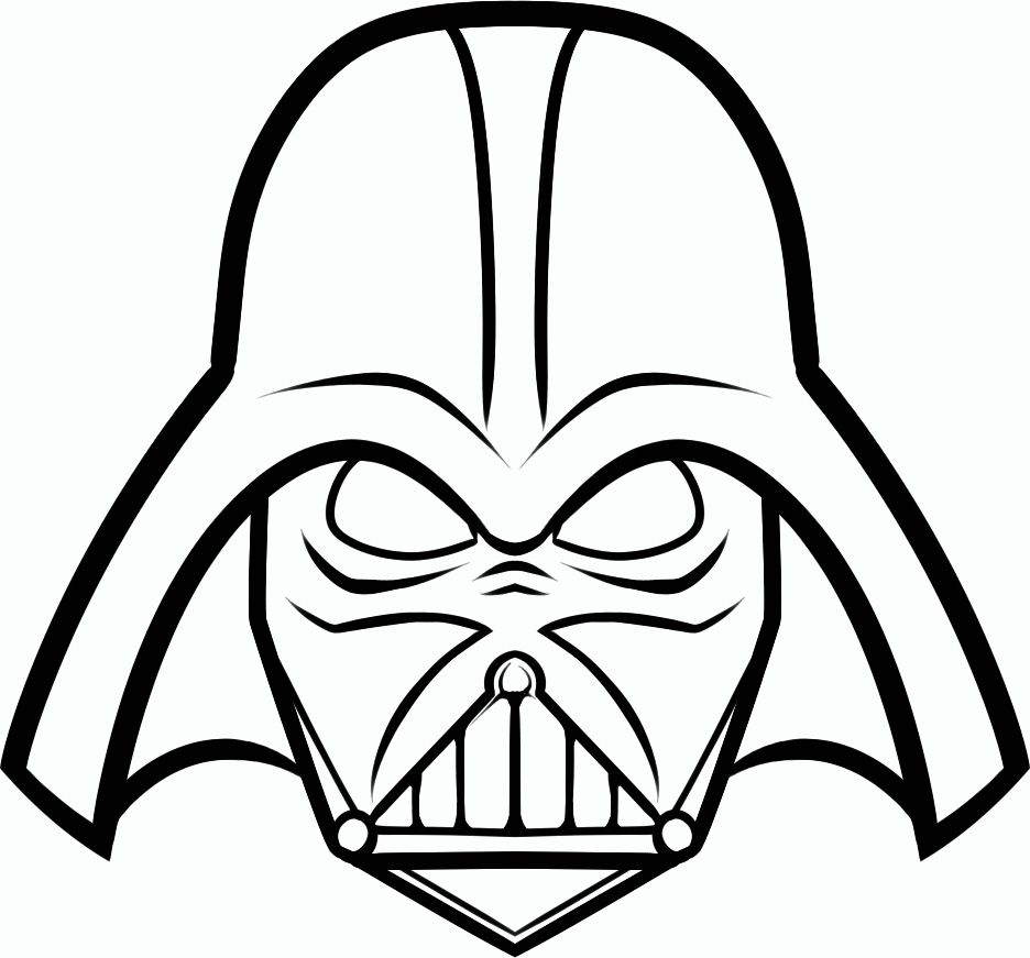 936x871 Creative Ideas Darth Vader Coloring Pages Itgod Me At Page