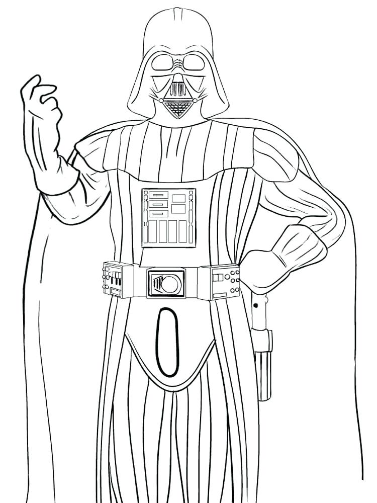 750x1000 Darth Vader Coloring Pages Coloring Pages For Boys Darth Vader