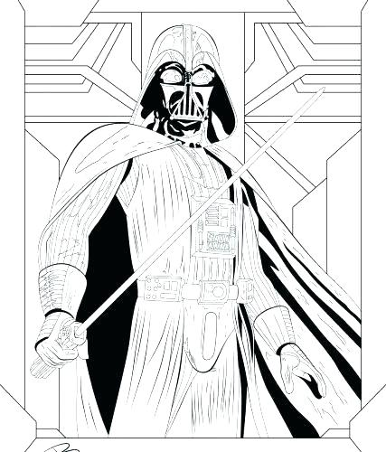 427x500 Darth Vader Coloring Pages Coloring Pages Star Wars Coloring