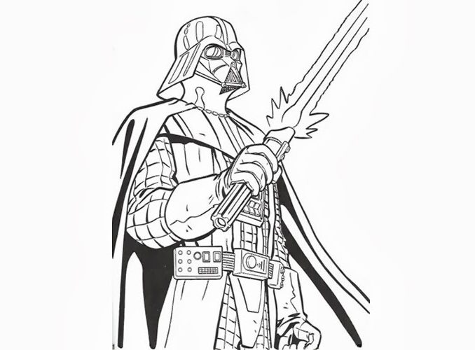678x500 Darth Vader Coloring Pages Coloring Pages Online Free Coloring