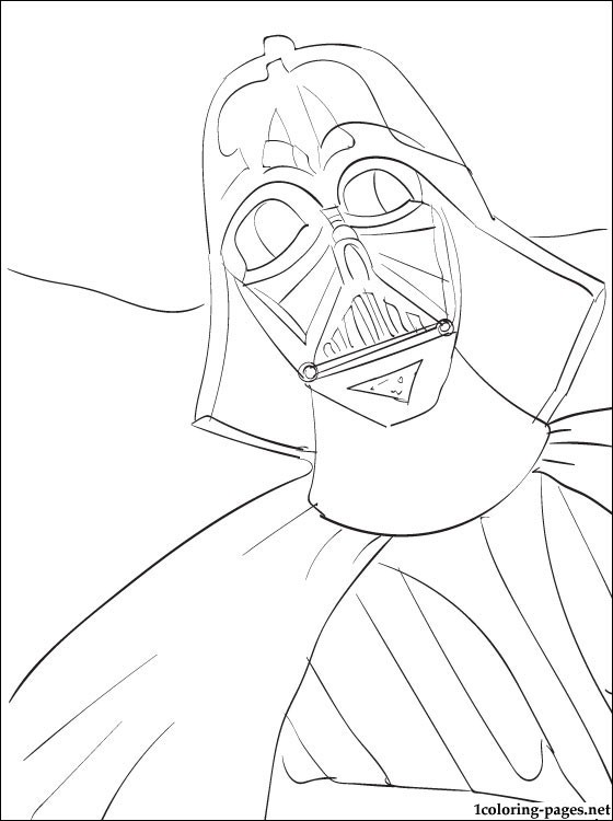 560x750 Star Wars Darth Vader Coloring Page Coloring Pages