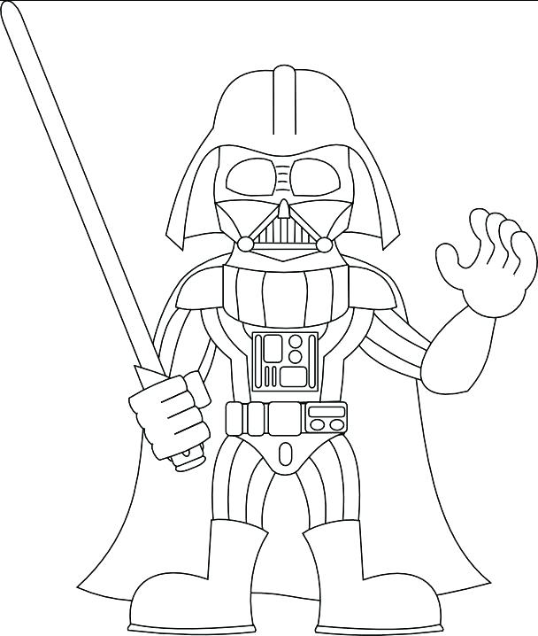 608x718 Darth Vader Coloring Pages Pictures Color Coloring Pages