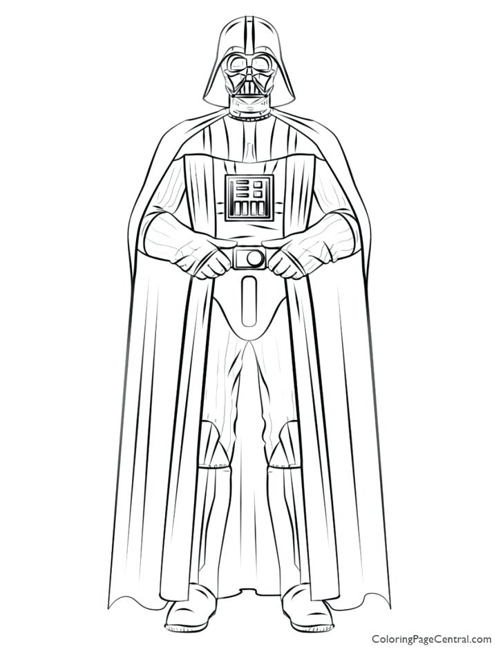 728x942 Darth Vader Coloring Pages To Print Kids Coloring Coloring Page