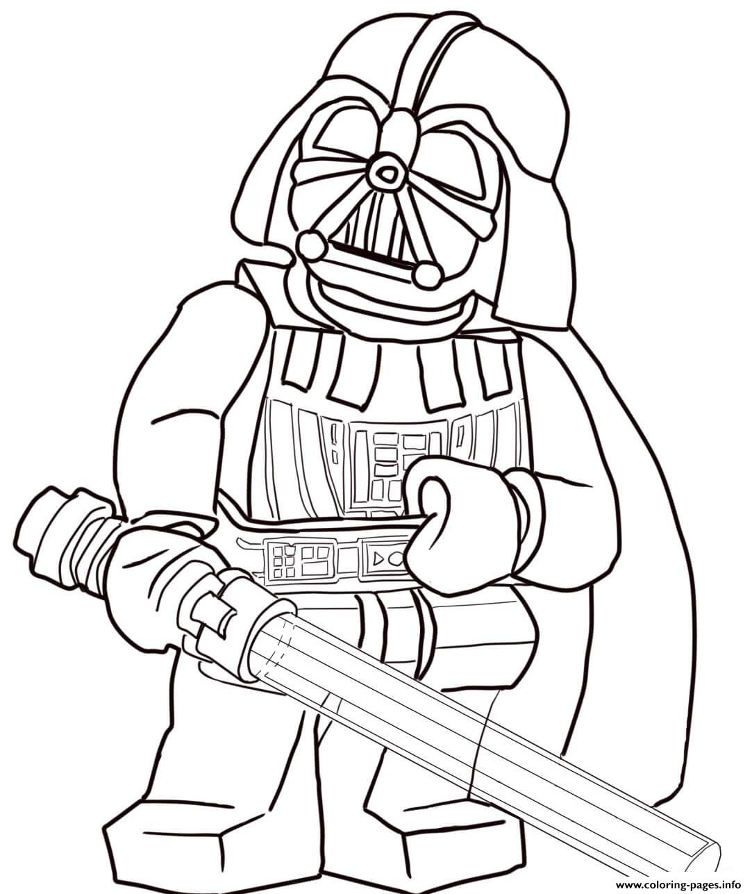 1083x1287 Lego Star Wars Darth Vader Coloring Pages Printable In Page