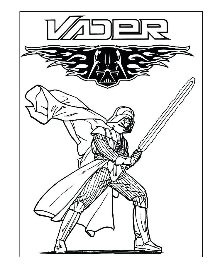 750x926 Darth Vader Printable