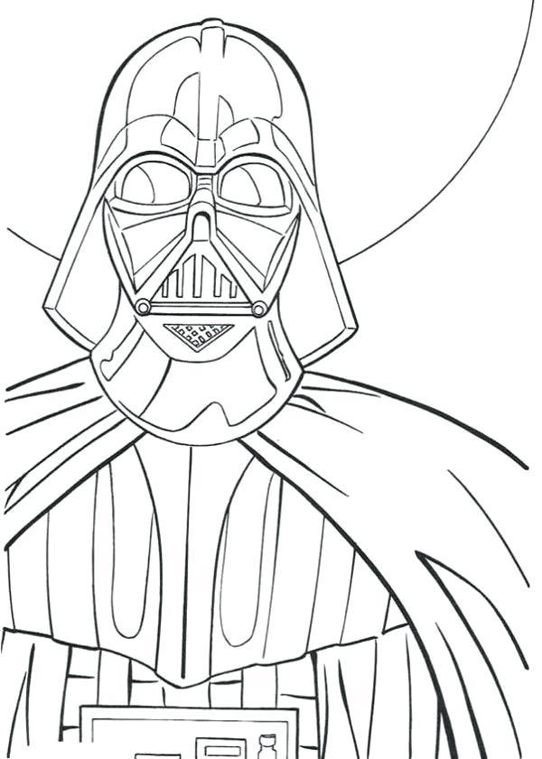 600x841 Darth Vader Coloring Page Coloring Pages Darth Vader Coloring