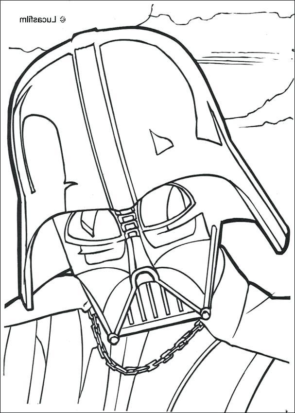 607x850 Darth Vader Paper Mask Printable Mask Coloring Sheet Mask Coloring
