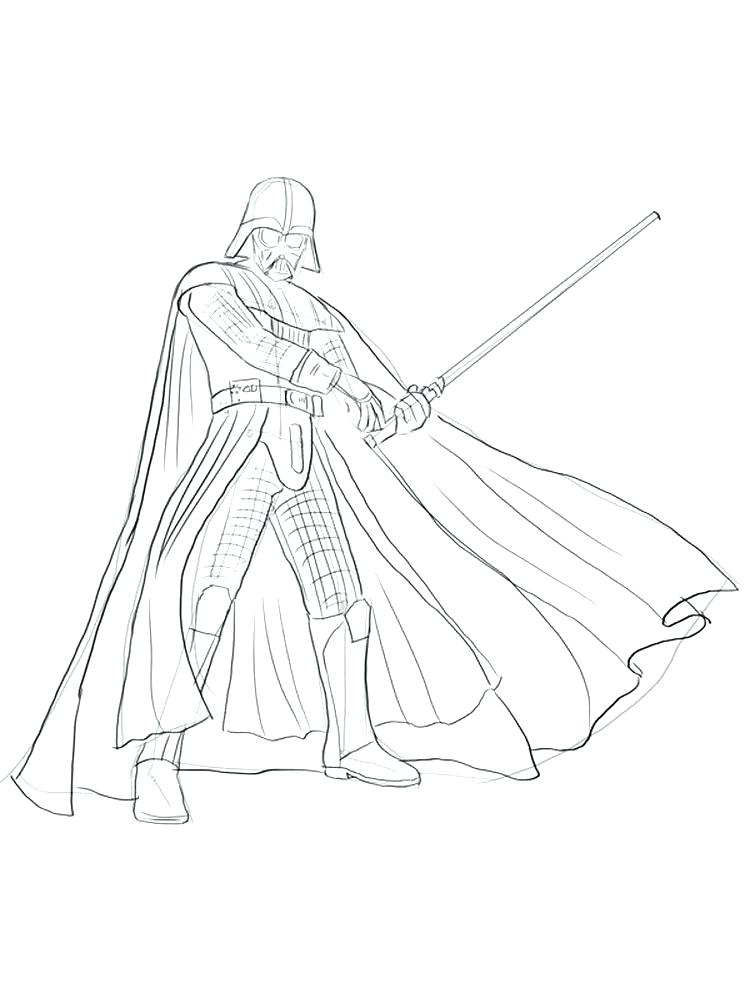 Darth Vader Mask Coloring Page At Getdrawings Com Free For