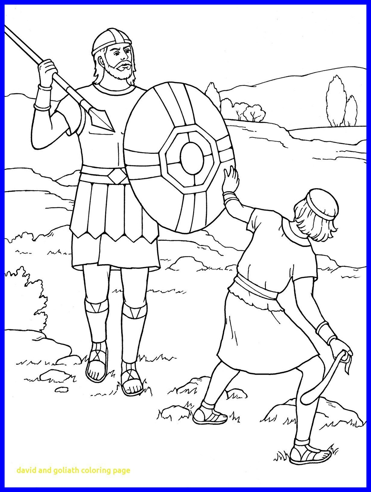 1230x1630 amazing david and goliath coloring page colorng co for jonathan