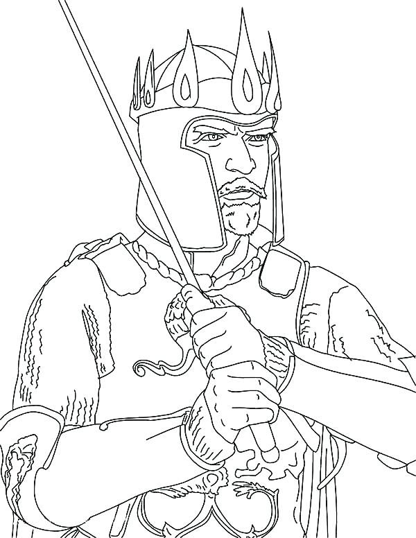 600x776 King Saul Coloring Page King Coloring Page King Crown Coloring