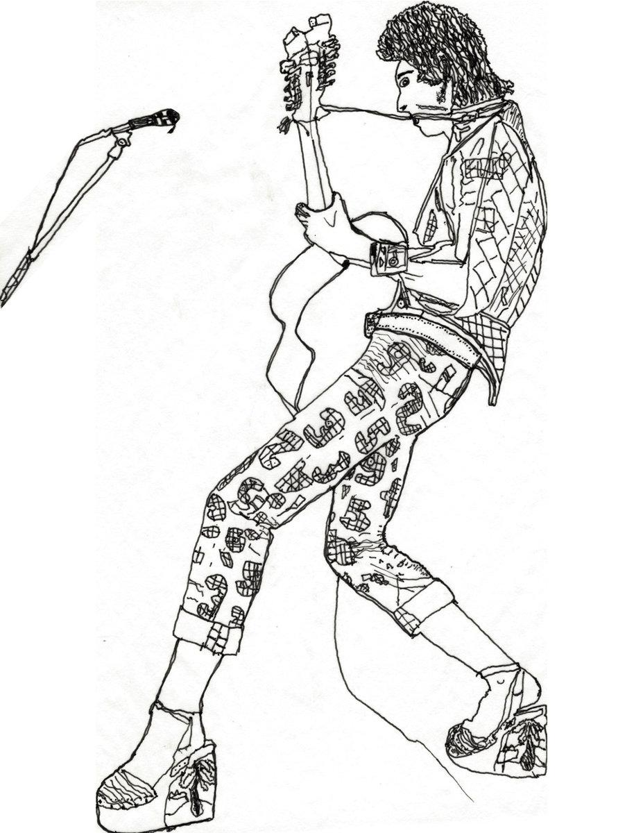 927x1200 Perfect Decoration David Bowie Coloring Book Zine D Out