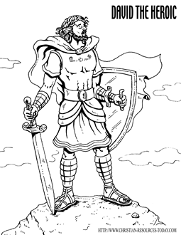 255x330 Bible King Coloring Pages