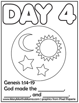 270x350 Creation Coloring Pages