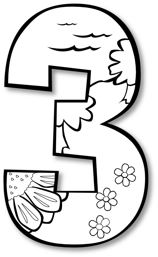 555x902 Creation Day Number Ge Black White Line Art Coloring Book