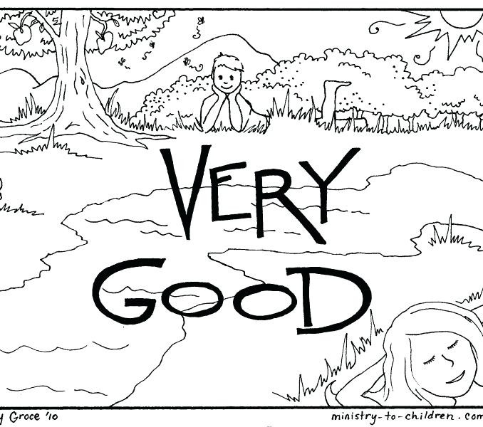 678x600 Days Of Creation Coloring Pages New Creation Coloring Pages