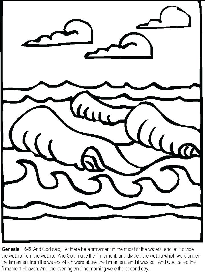 718x957 Days Of Creation Coloring Pages Seven Days Of Creation Coloring