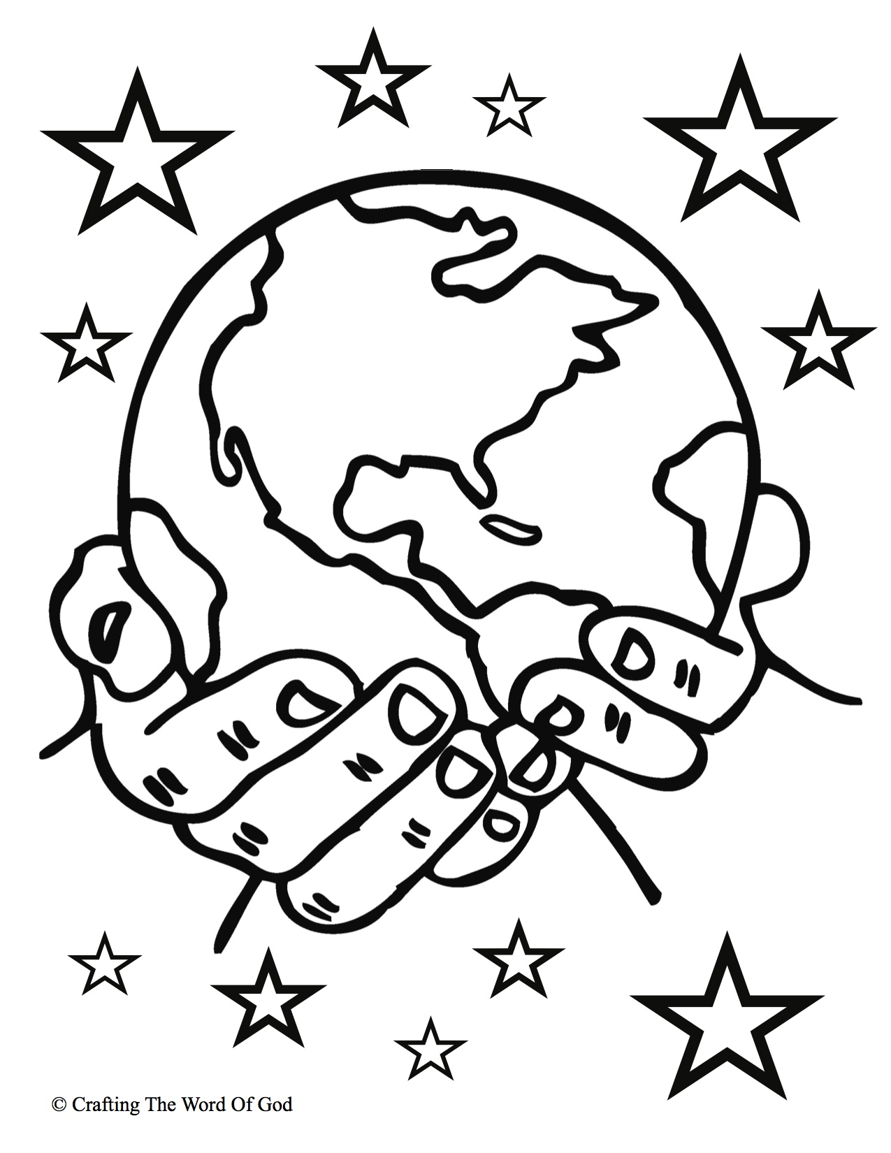 1275x1650 Creation Coloring Page Pages Story Day Of Bible Preschool