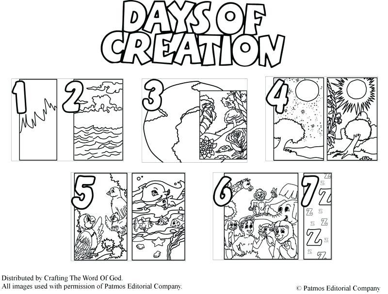 800x607 Creation Coloring Pages X Creation Coloring Pages Free Printable