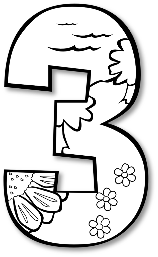 630x1024 Creation Day Number Ge Black White Line Art Coloring Book