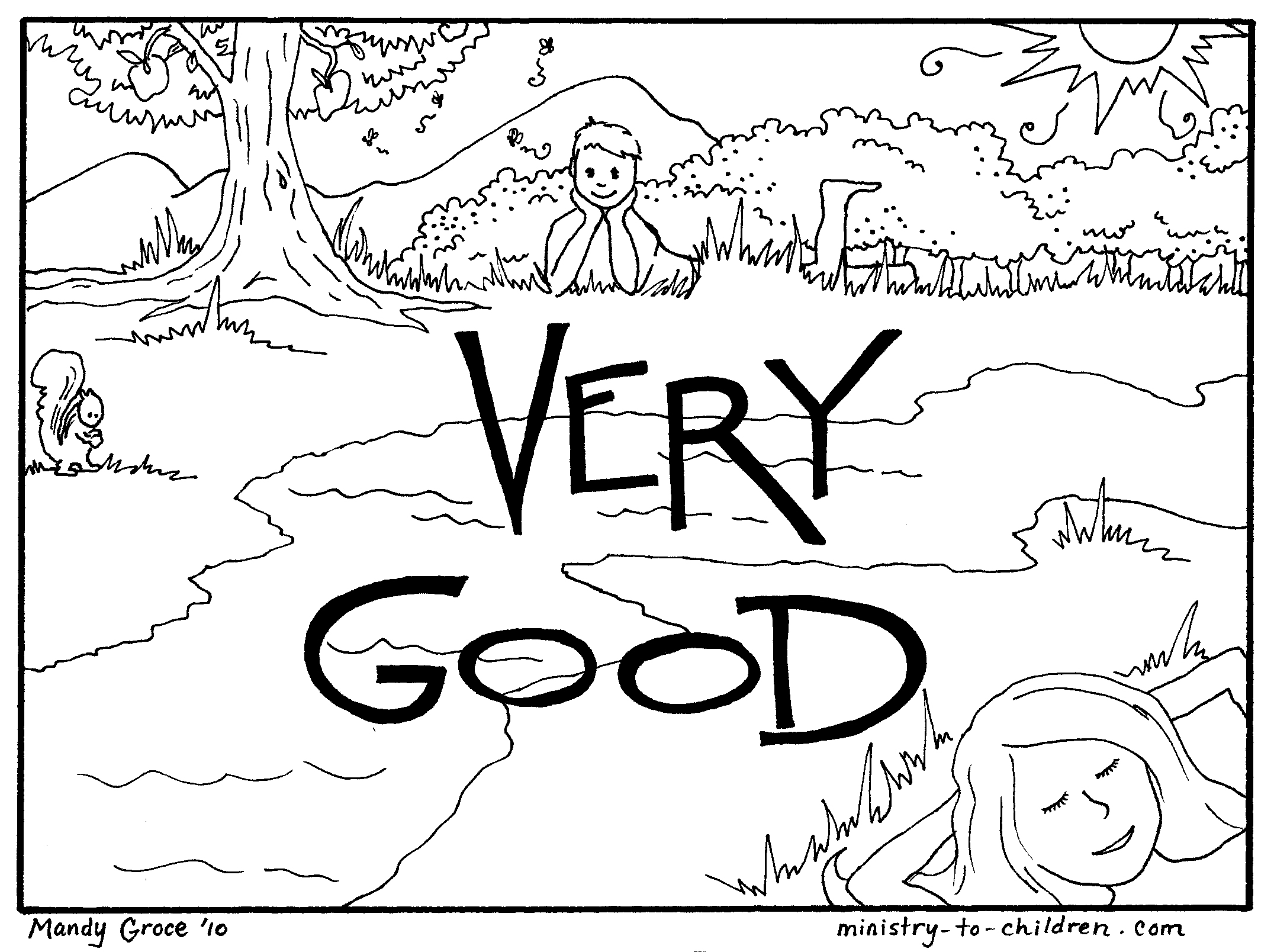 2152x1608 Fr Beautiful Days Of Creation Coloring Pages