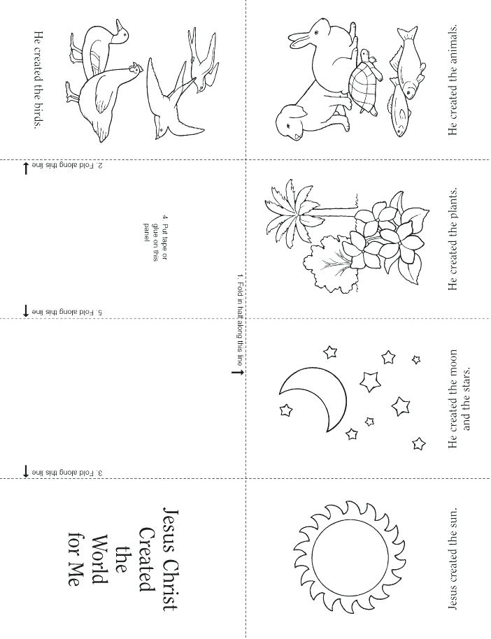 702x914 Days Of Creation Coloring Pages Creation Coloring Pages