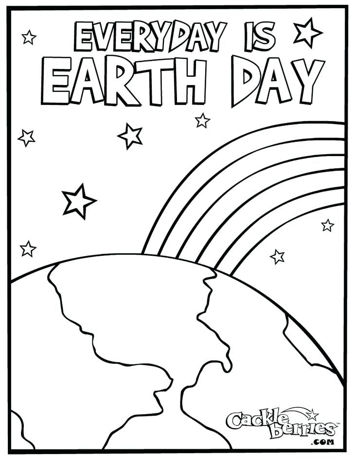 728x942 Earth Day Coloring Sheets