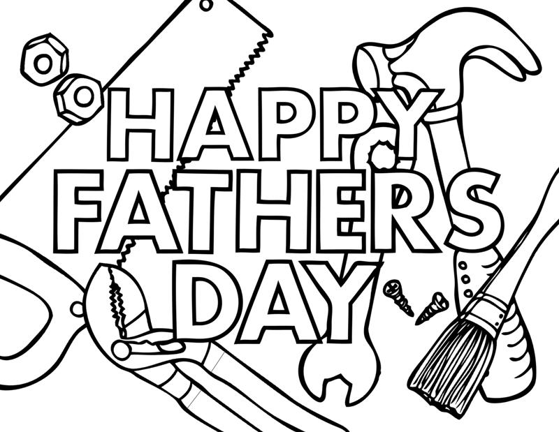 800x619 Happy Fathers Day Coloring Pages Printable Coloring Pages