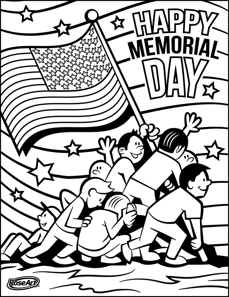 736x952 Memorial Day Coloring Pages Free Printable Pictures For Kids