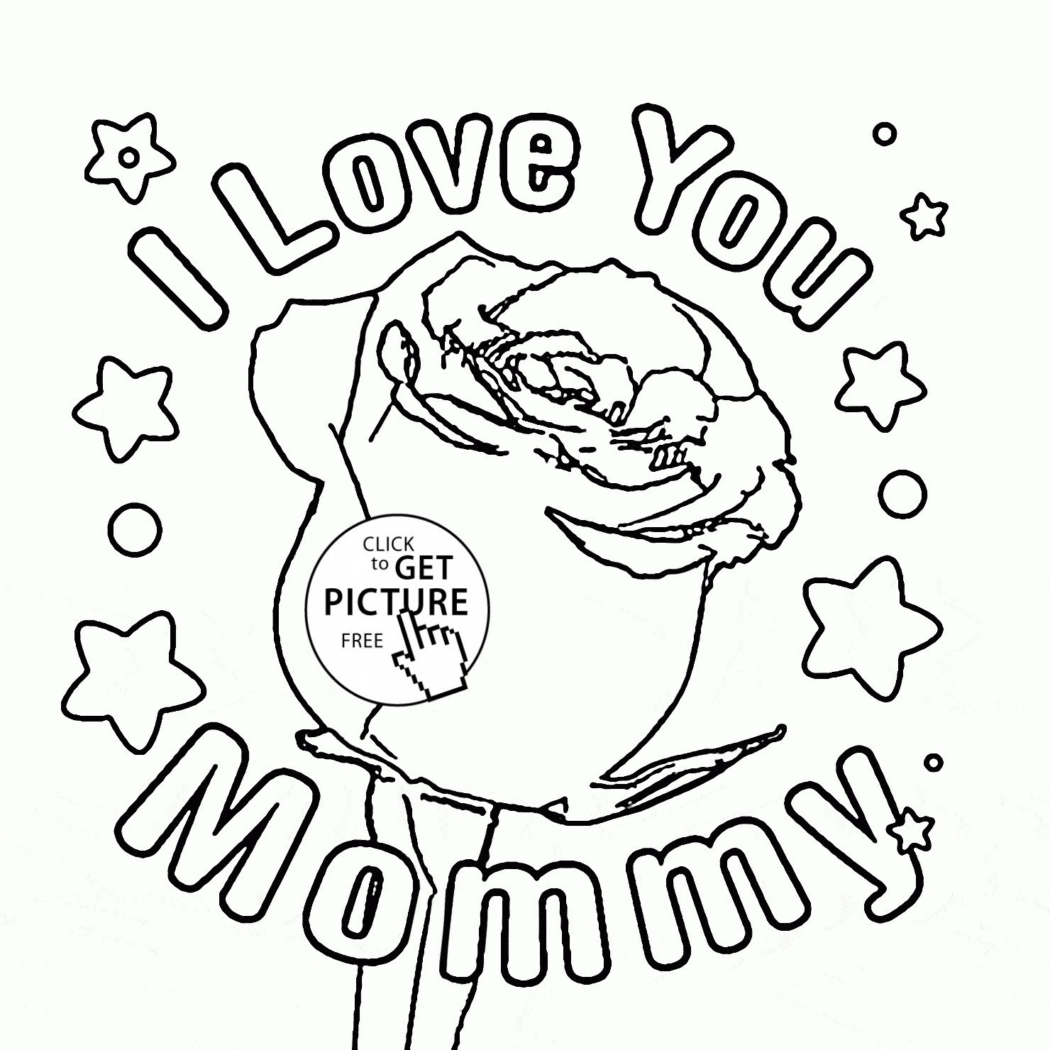 1480x1480 Mothers Day Coloring Pages Lds Copy Happy Mother And Her Kids