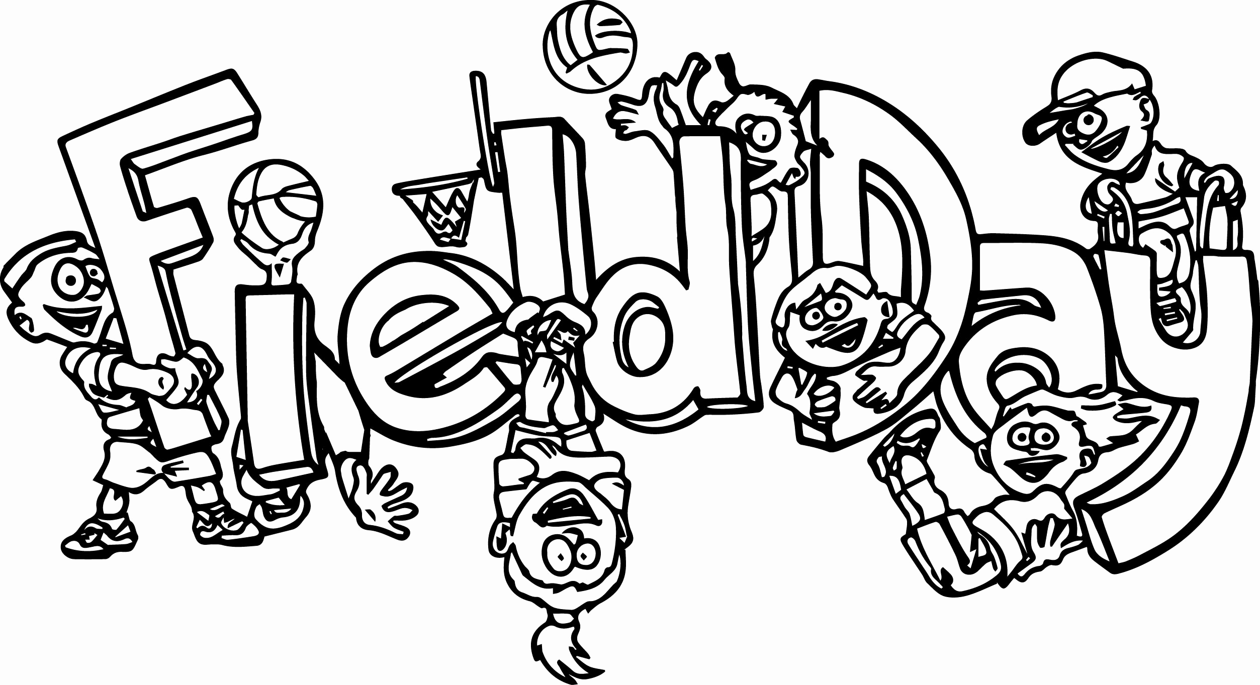 2506x1363 Reliable Field Day Coloring Page Picture To Lovely Pages Ideas