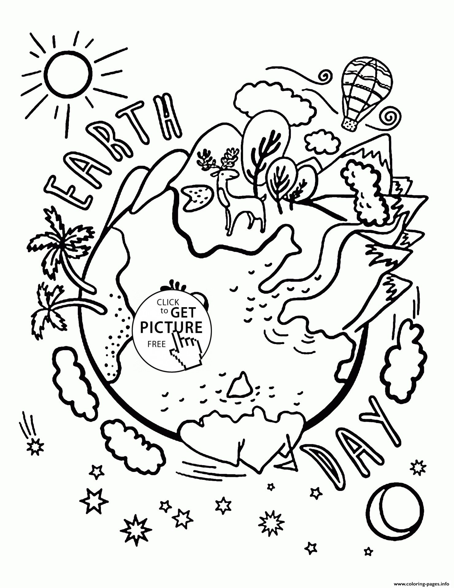 1480x1914 Coloring Pages Of The Earth To Print New Beauty Earth Earth Day
