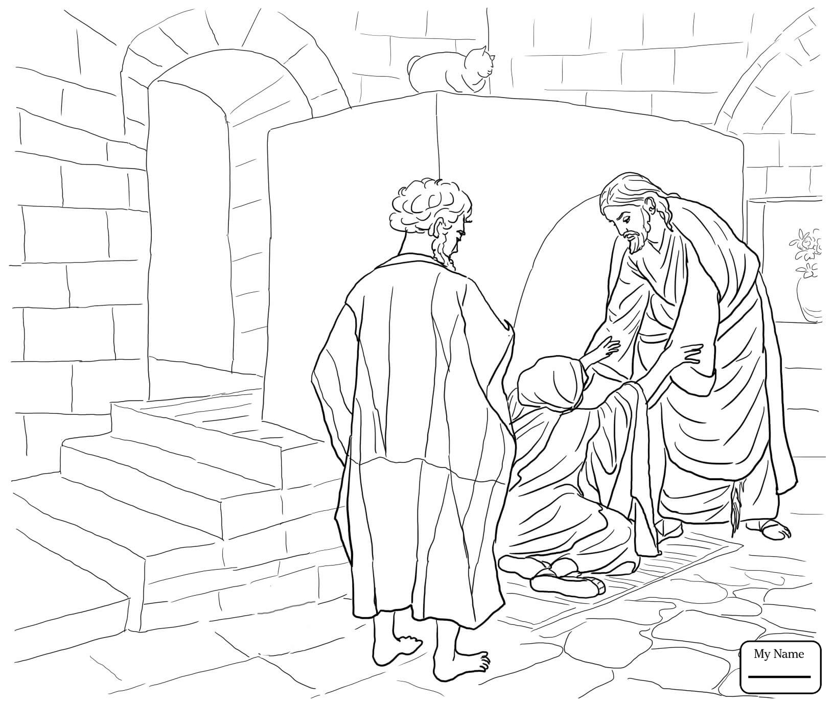Day Of Pentecost Coloring Pages
