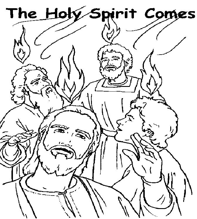 671x746 Pentecost Coloring Page Pentecost Coloring Page Many Interesting