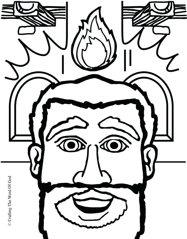 627x800 Pentecost Coloring Page The Day Of Peter Preaching At Pentecost