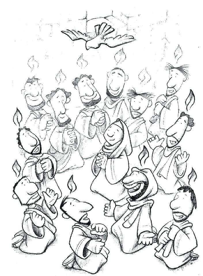 705x961 Pentecost Coloring Pages Coloring Page With Day For All Coloring