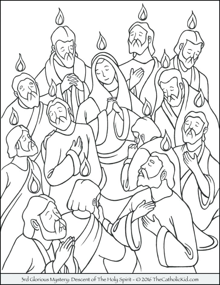 728x942 Pentecost Coloring Pages Medium Size Of Coloring Page
