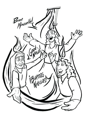 372x479 Pentecost Coloring Pages