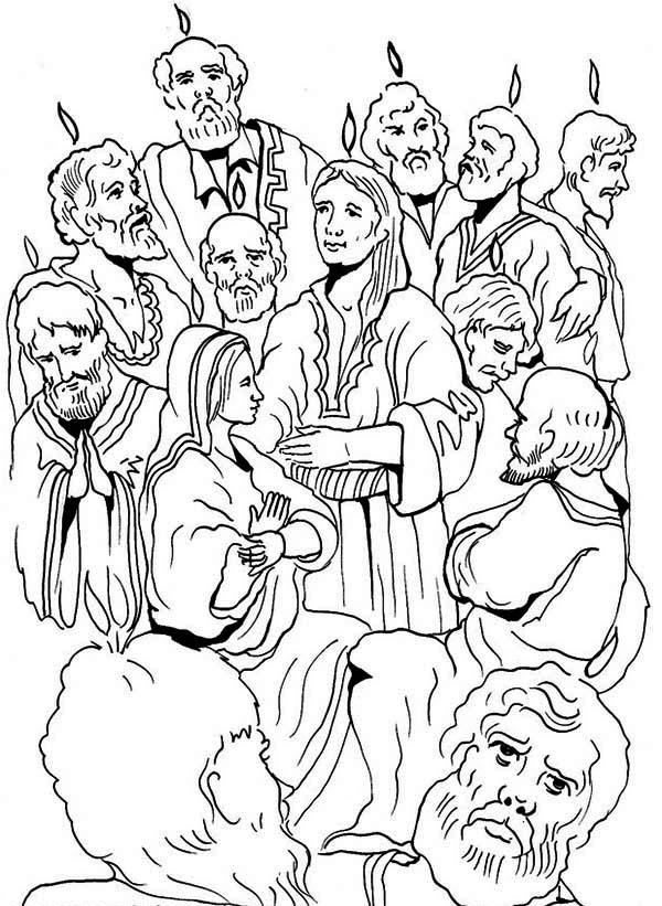 600x821 Jewish Harvest Festival In Pentecost Coloring Page Color Luna