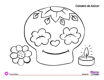 Day Of The Dead Coloring Pages For Kids At Getdrawings Com Free