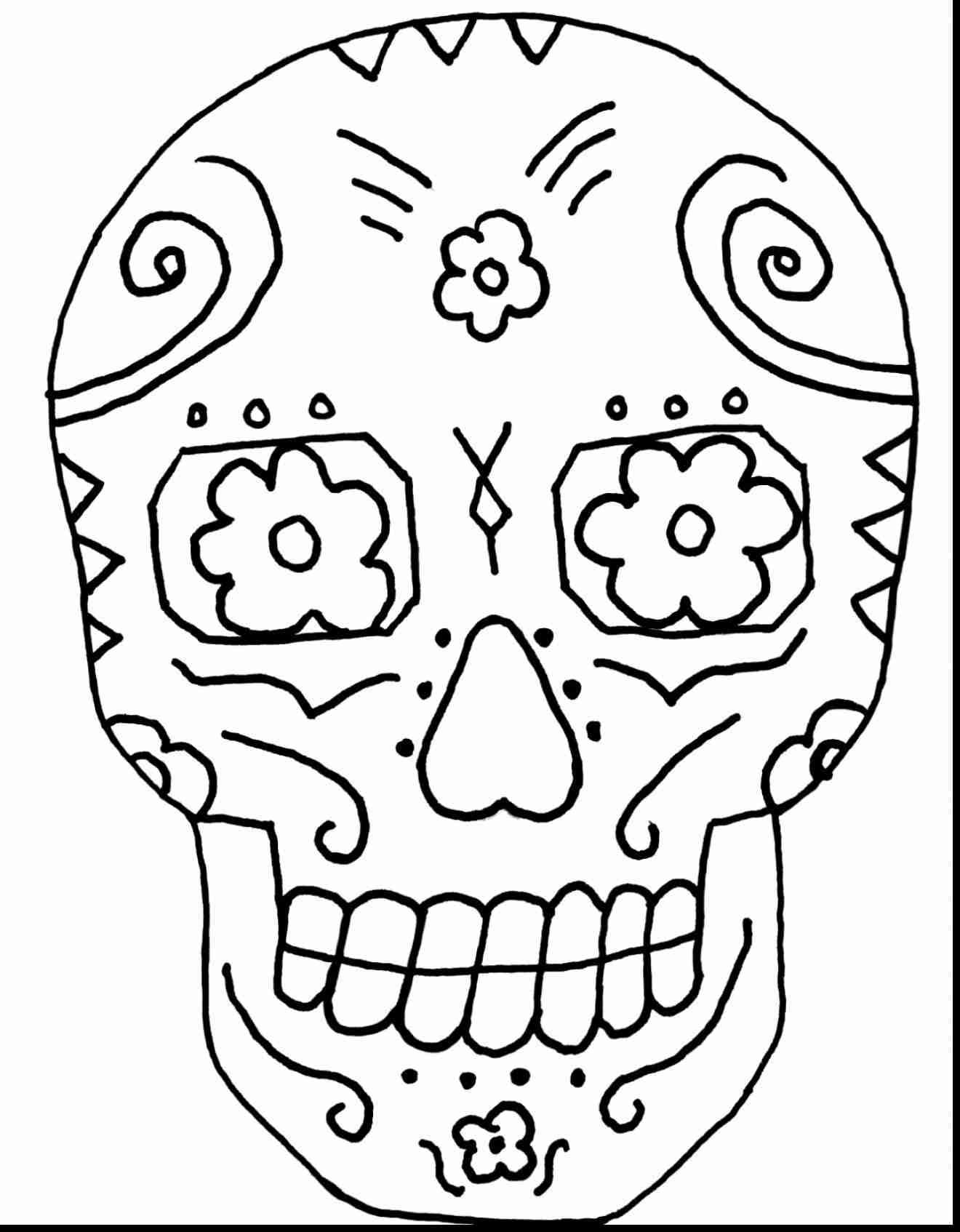 1320x1694 Day Of The Dead Mask Coloring Page Beauteous Dia De Los Muertos