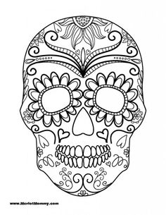 236x305 Day Of The Dead Calavera Skull Mask