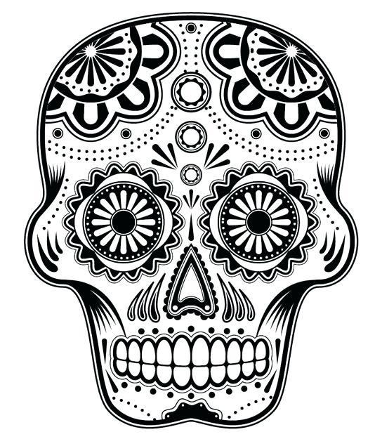 534x625 Dia De Los Muertos Coloring Pictures Dia De Los Muertos Mask