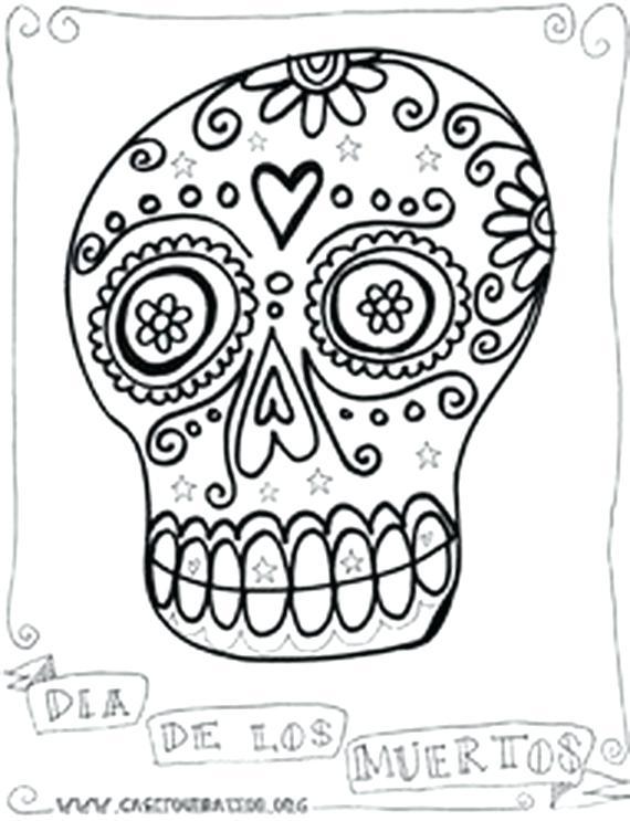 570x743 El Dia De Los Muertos Coloring Pages Skeleton Cut Paper Skeleton
